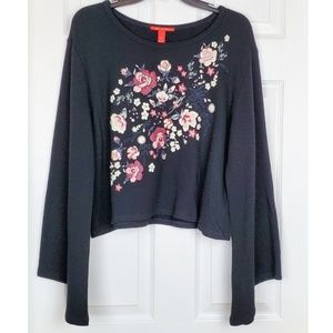 NWT Chelsea & Violet longsleeve blouse size L